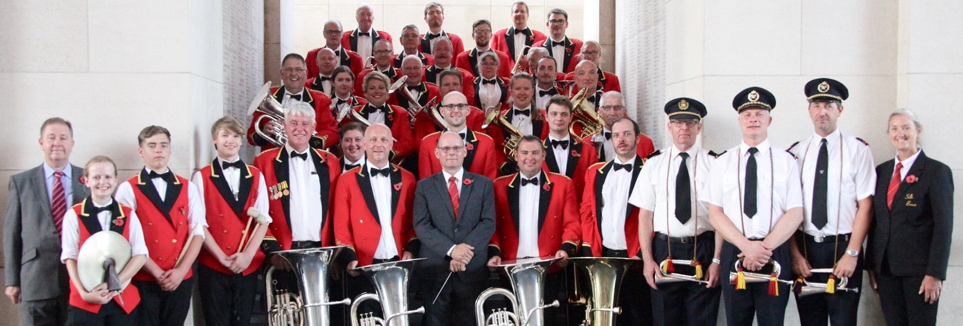 Silk Brass Band. A top class brass band based in Marton, Cheshire